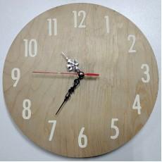 Часы из фанеры #2
