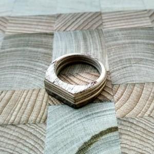 Кольцо из дерева береза, ольха 02