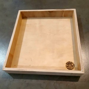 Коробка неокрашенная из фанеры